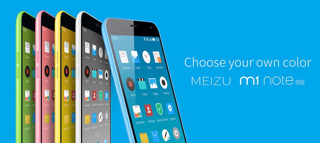 Meizu Launches MEIZU M1 NOTE