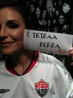 Ivete Sangalo no Twitter - Vitória É tetra