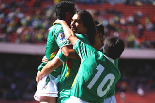 Con 5 Históricos Bolivia Copa América