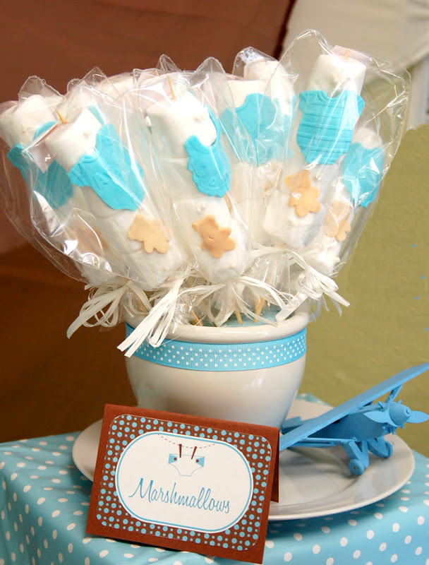Blue Brown Baby Shower A To Zebra Celebrations