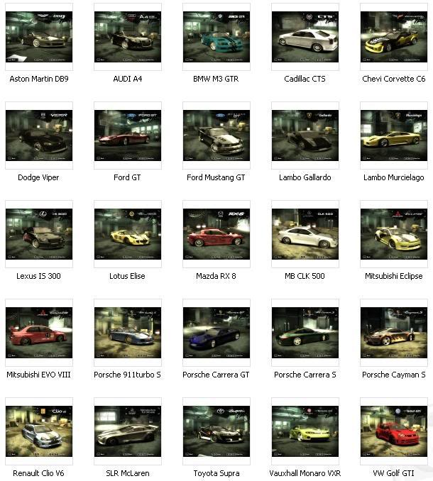 Cara Install Savegame Tamat Need For Speed Most WantedNeed For Speed Most Wanted Car List 2012