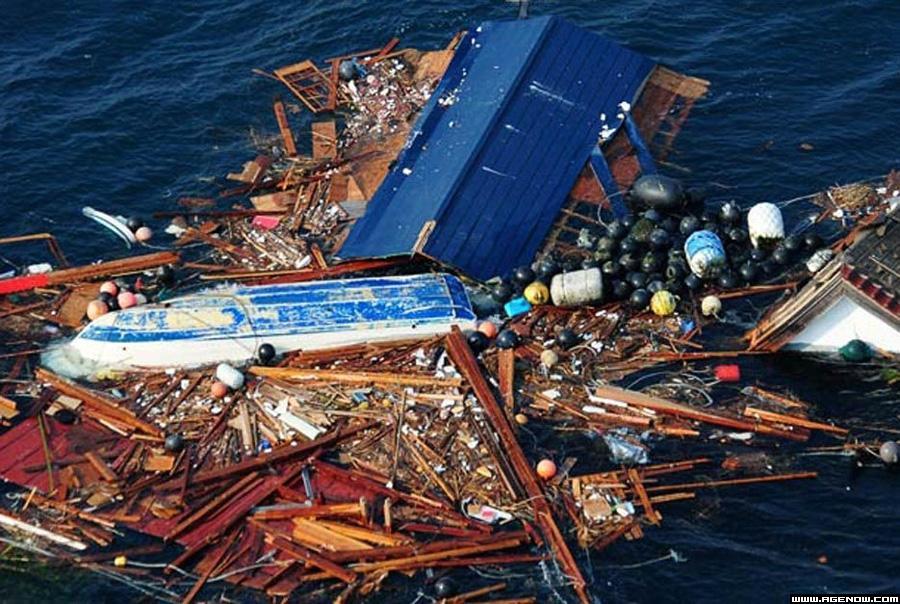 Tsunami Refuse