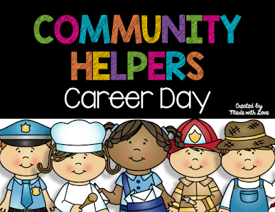 https://www.teacherspayteachers.com/Product/Community-Helpers-Career-Day-1922826