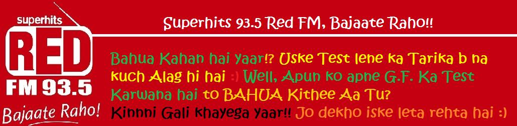 Red FM 93.5 Online : Bajate Raho!