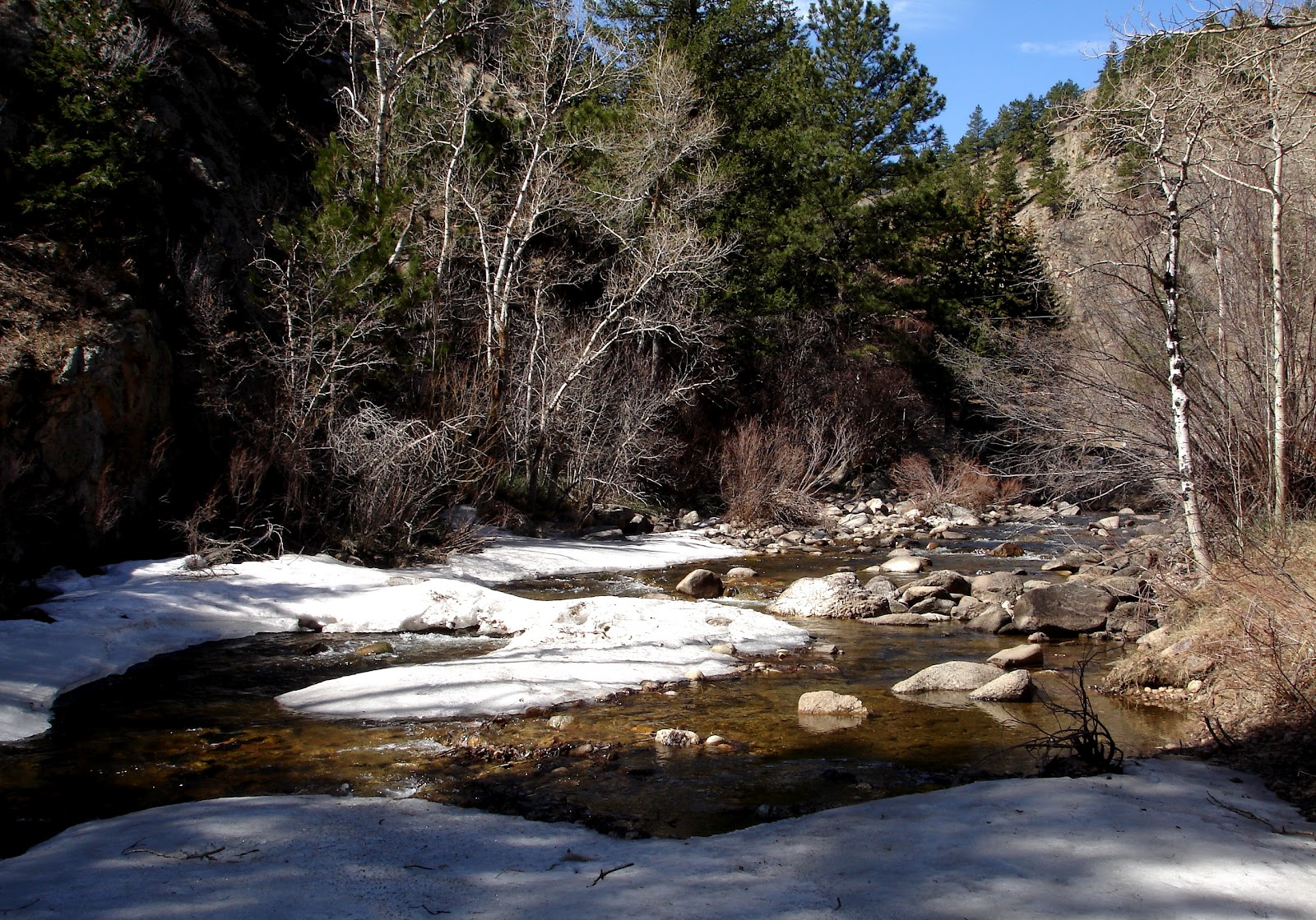 Colorado fly fishing reports boulder creek opening up for Boulder creek fishing