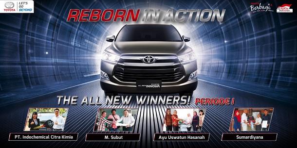 Pemenang Test Drive All New Kijang Innova 2016