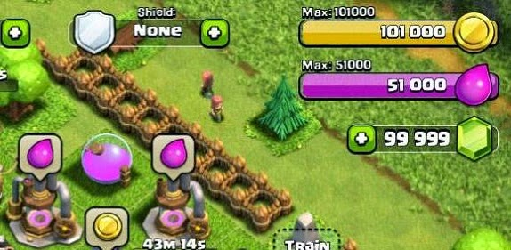 clash of clans hack tools result