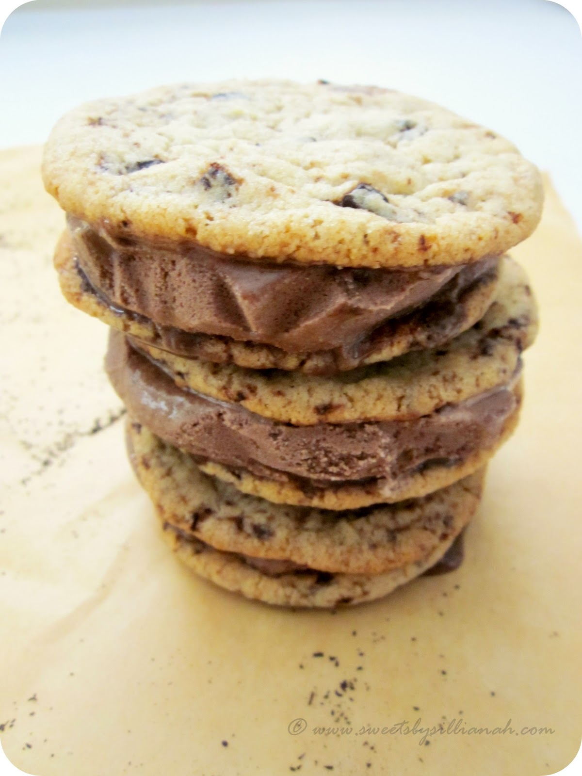 ... Earl Grey Ice Cream Sandwiches & The Best Chocolate Chip Cookies Ever