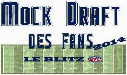 Mock Draft des Fans 2014 Le Blitz NFL