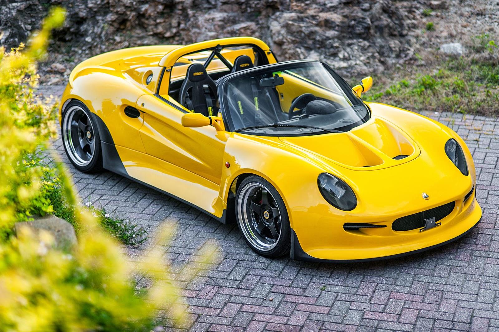 1999 lotus elise gt widebody roadster