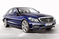 Mercedes-Benz C 300 BlueTec Hybrid Saloon (2014) Front Side