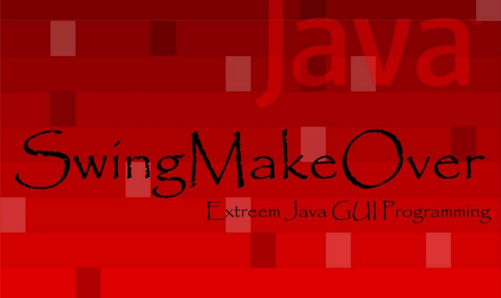 Ebook: Java Swing Make Over