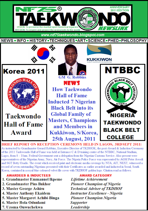 NIGERIA TAEKWONDO MAKES 7 HISTORY AT KUKKIWON