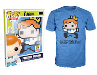 Pop! Tees: Freddy Funko 8-Bit Pixelated
