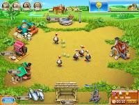 لعبة مزرعة تربية الحيوانات
