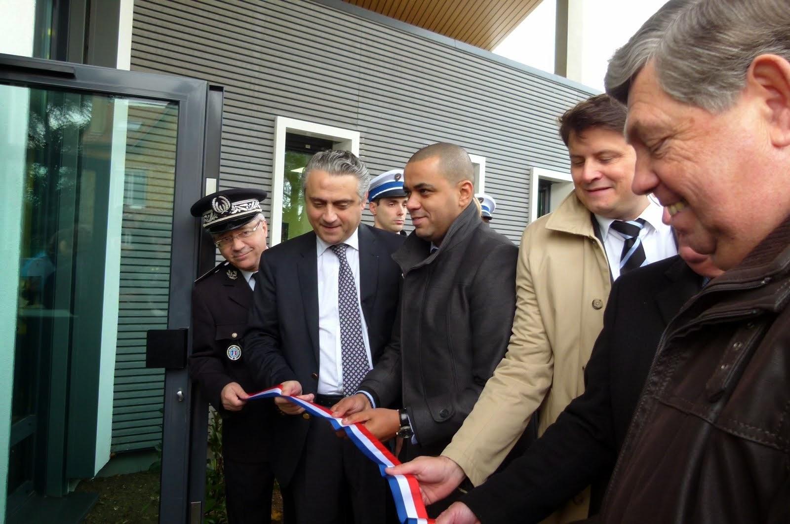Inauguration du commissariat de Vernouillet (78)