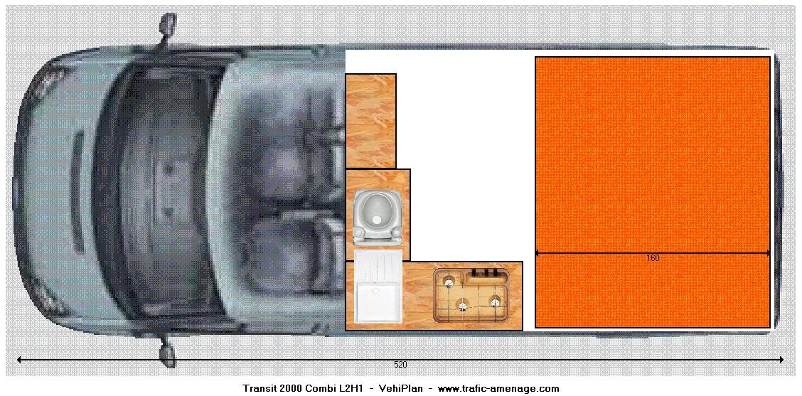 Connu SURF ALL MED: Aménagement Ford Transit suite GM14