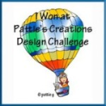 Pattie's Creations Challenge Winner November 2011
