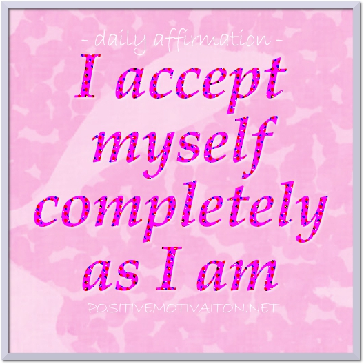 Daily affirmations for self confidence definition