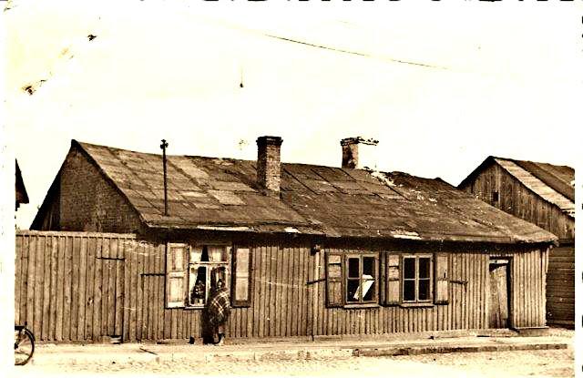 Końskie. Dom Joska Milsztajna, 1942. KW.