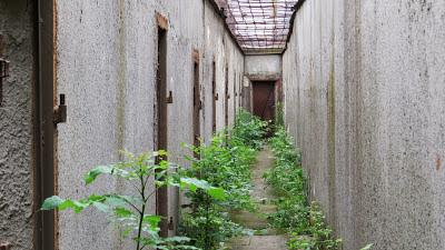 Patarei - walking yard