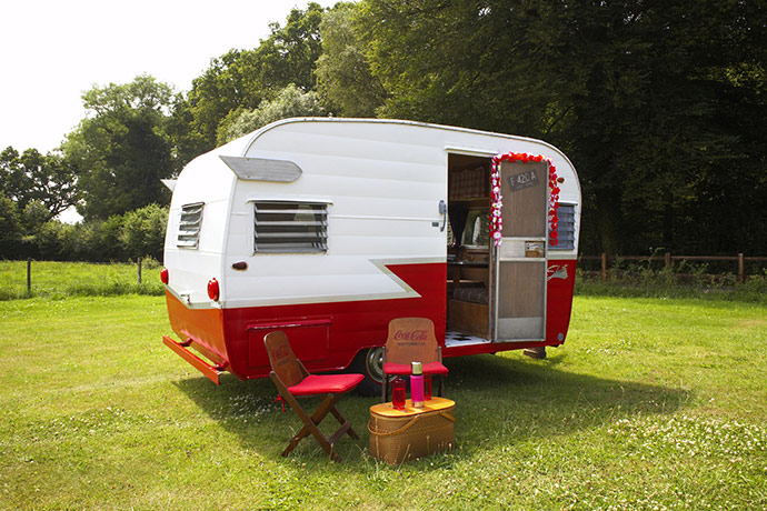 Original But Little Did They Know, Vicki Had A Major Transformation Process In Mind Just 12 Months Later, The Caravan Had Changed From A Plain, Boring Shell Into A Trendy, Vintage Inspired Photobooth And Set Up Her Own Business Selling Photos At