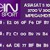 beIN Sport -Eutelsat 3.1°E - Biss Code