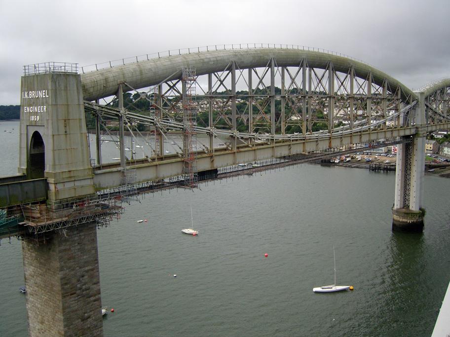 Royal Albert Bridge Facts Brunel's Royal Albert Bridge
