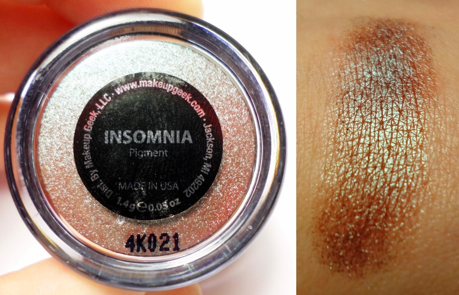 Makeup Geek Insomnia Loose Pigment 1.4g