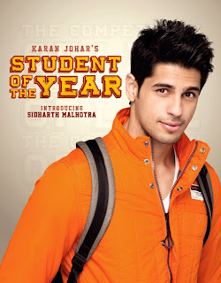 First Look Posters - Student Of The Year - Introducing Sidharth Malhotra,