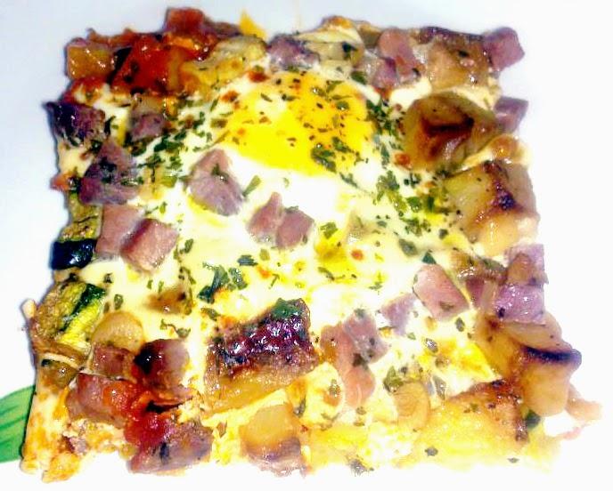 Cocina en 30 minutos - Huevos al plato