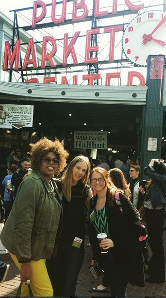 How To Survive Your First Blogging Conference; Pike Street Market