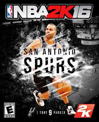 NBA 2K16 Custom Covers - San Antonio Spurs