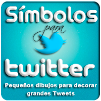 Smbolos para Twitter