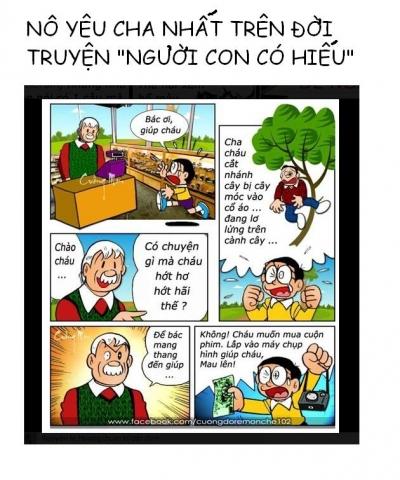 Nobita Yêu Cha Nhất Trên Đời