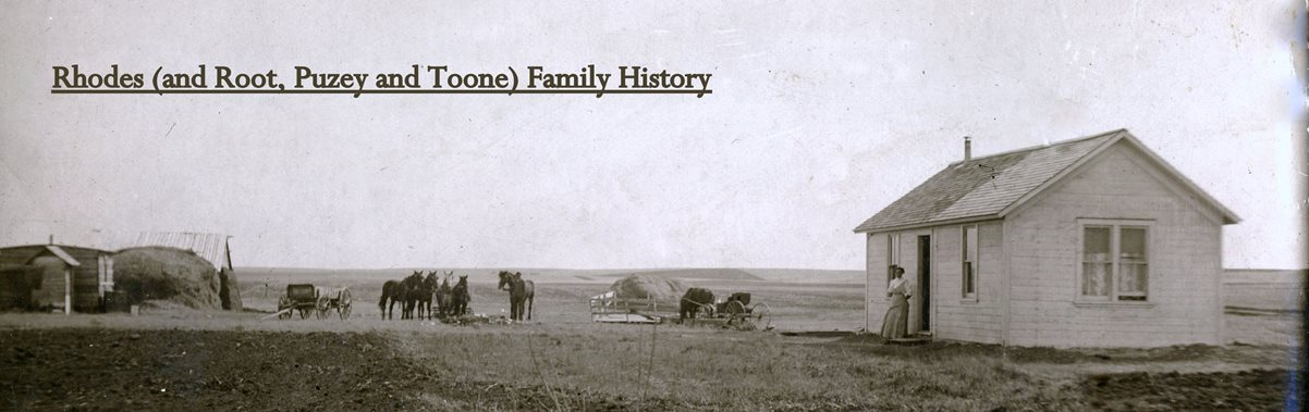 Rhodes Family History