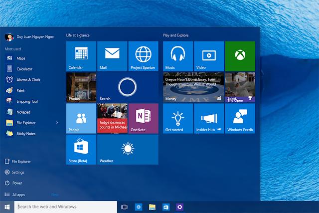 Download Windows 10 Full ISO bản chính thức từ Microsoft 1 Link