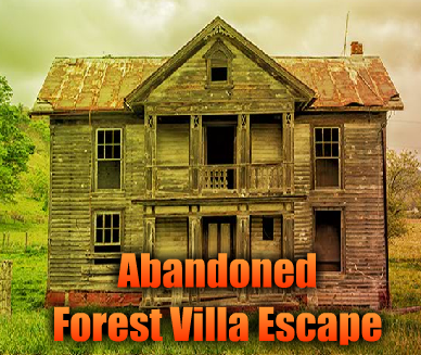AvmGames Abandoned Forest Villa Escape