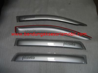 Talang Air Picanto / New Picanto Silver Mugen Depan Belakang