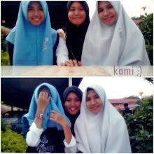 Atika, Aina & Saya ♥