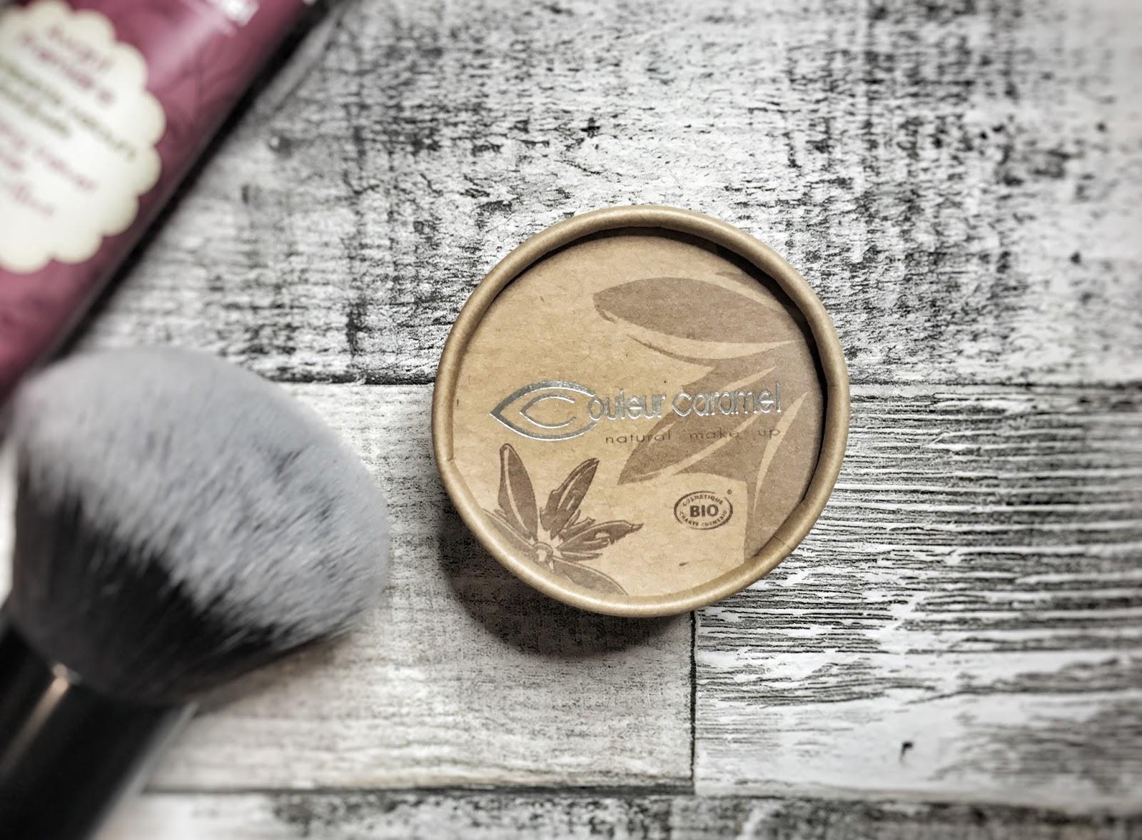 Naturalny makijaż: Biomineralny puder Couleur Caramel