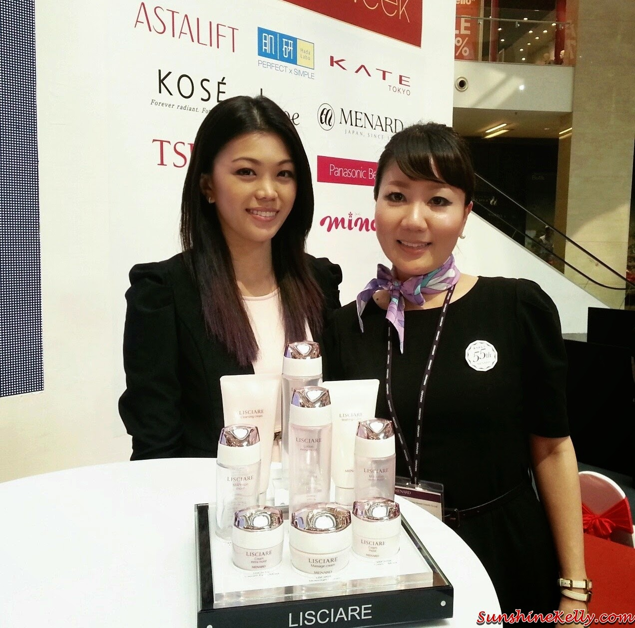 Menard Lisciare Review & On Stage with Ayumi, menard, lisciare, menard lisciare, skincare, on stage, japan skincare, japan beauty products, japan beauty week