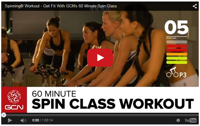 Spinning Workout - Get Fit With GCN's 60 Minute Spin Class