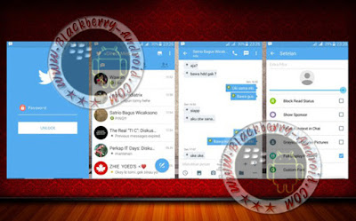 BBM2 Mod Tema Mirip App Twitter New Versi 2.10.0.31 Clone Apk
