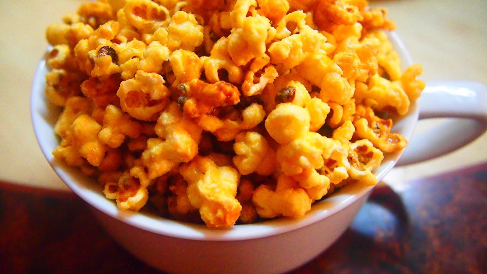 how to make homemade caramel popcorn