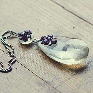 Chandelier Necklace DIY Part 2