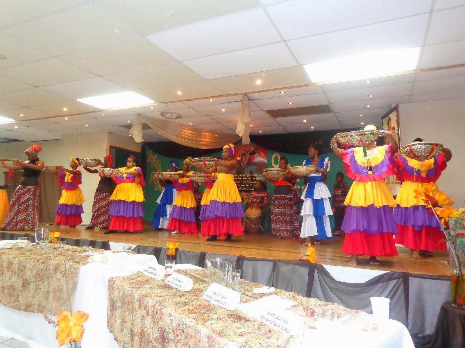 Cuadro de Danzas Garifunas ODECO