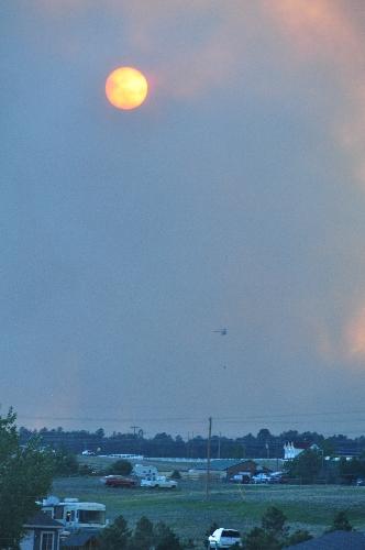 Black forest wildfire June 11 2013 coloradoviews.blogspot.com