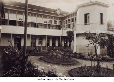 JARDIM INTERNO DA SANTA CASA DE MISERICORDIA