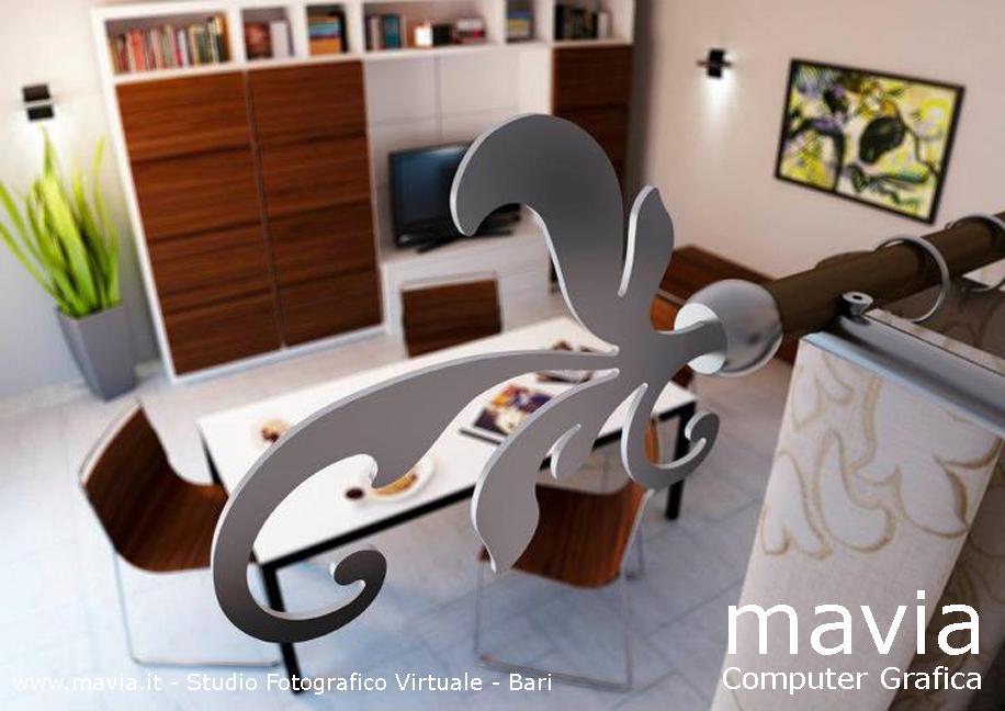 Arredamento di interni disegno industriale 3d bastoni for Siti arredamento interni